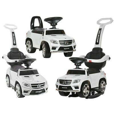Kids Licensed Mercedes GL63 Ride on Car Push Along Foot to