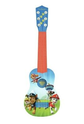 LEXIBOOK Paw Patrol Chase My first guitar, 6 nylon strings