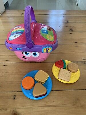LeapFrog Shapes and Sharing Picnic Basket Toy