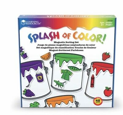 Learning Resources Splash of Colour Magnetic Sorting Set