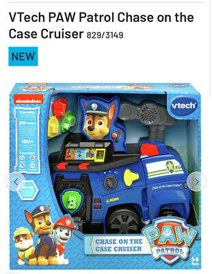 Paw Patrol V-Tech Chase on the Case Cruiser Brand New!! Free