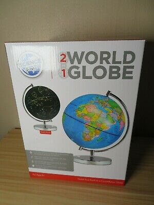 Science Kidz 2 in 1 Illuminated World Globe Light Up