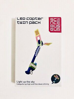 Science Museum LED copter twin pack. New & Boxed.