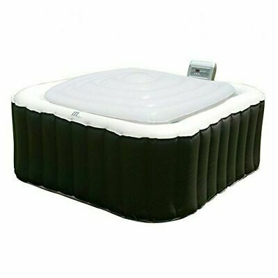 MSPA Hot Tub Jacuzzi with Heat Preserver & Rain Outflow