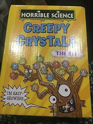 Galt HORRIBLE SCIENCE CREEPY CRYSTALS Kids Educational Toy