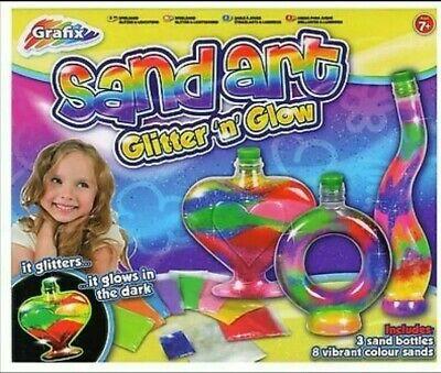 Grafix - Sand Art - Glitter 'n' Glow - Brand New in Box,