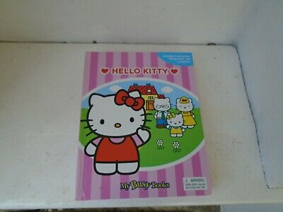 Hello Kitty book,figurines and playmat