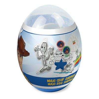 NEW! Disney Toy Story 4 Children's Maxi Egg Surprise With