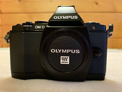Olympus OM-D E-MMP Digital Camera - Black (Body Only)
