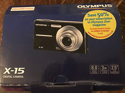 Olympus X-Series X-MP Digital Camera - x15 retro 8mp