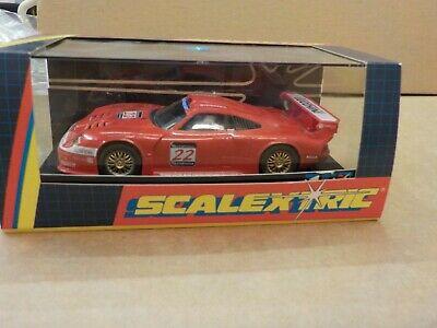Scalextric C Porsche GT1 BMS Scuderia, Boxed, Used,