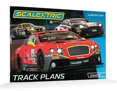 Scalextric C Track Plans Book 10th Edition