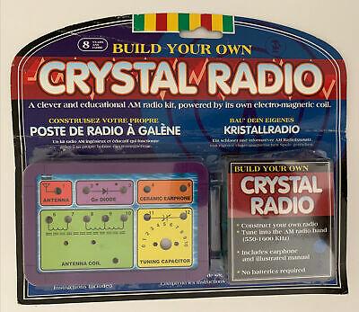 Science Build Your Own Radio. Crystal Radio 8 years +