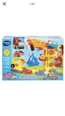 VTech Toot Toot Drivers Construction Site Set Play Set Toys
