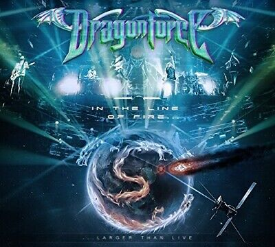 DRAGONFORCE - IN THE LINE OF FIRE (UK) NEW CD