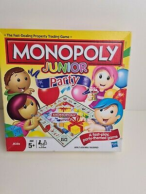 Monopoly Junior Party Board Game age 5+