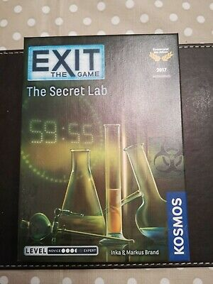 Thames & Kosmos Exit: The Secret Lab Board Gameopened but