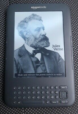 Amazon Kindle Keyboard (3rd Generation) 4 GB, Wi-Fi + 3G, 6