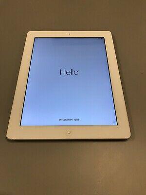 Apple iPad 4th Gen. 16GB, Wi-Fi, 9.7in - White Great