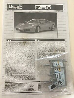 REVELL FERRARI F NO  INSTRUCTIONS ONLY & SOME