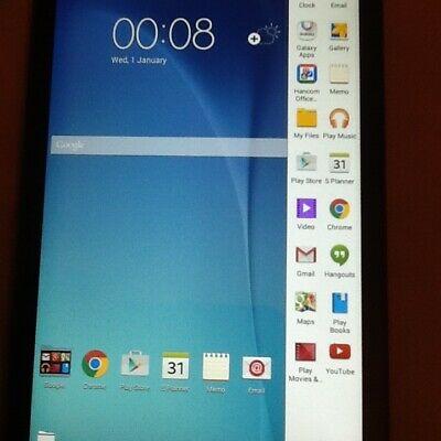"Samsung Galaxy Tab E T"" Black 8gb WiFi WLAN Tablet"