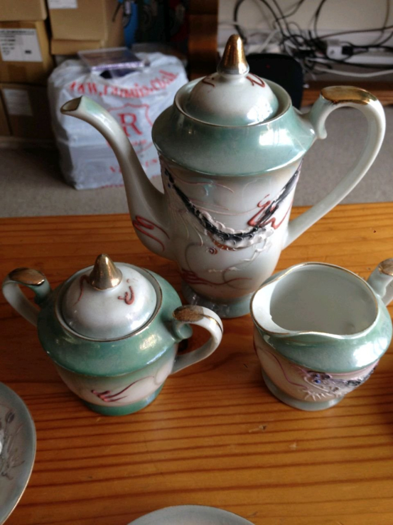 Very fine tea set