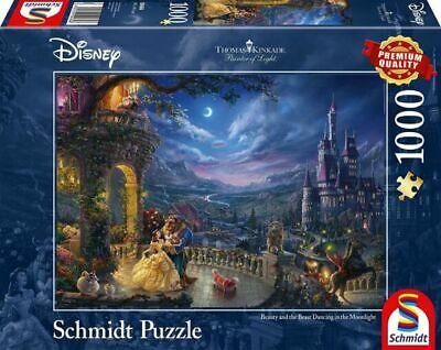 Schmidt Thomas Kinkade Disney Beauty and the Beast Puzzle