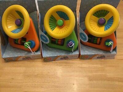 3 x Wilko Little Steps Junior Driver Steering Wheel baby toy