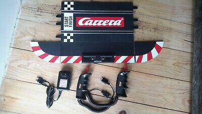 CARRERA 132 Evolution 2 Régulateurs  + Rail de Départ