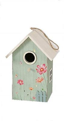 CasaJame Wooden Bird House for Balcony and Garden, Nesting