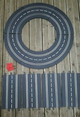 Lot 10 Rails Carrera Digital Evolution 6 Courbes 1/60 R1