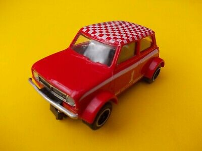 SCALEXTRIC C122 MINI CLUBMAN RED IN SUPERB CONDITION
