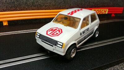 Scalextric Car,s vintage C MG METRO TURBO White/