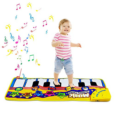 Piano Playmat, Kids Piano Mat Musical Carpet Baby Floor