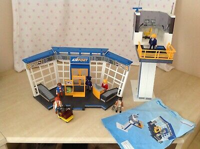 Playmobil  Airport with Control Tower - good condition