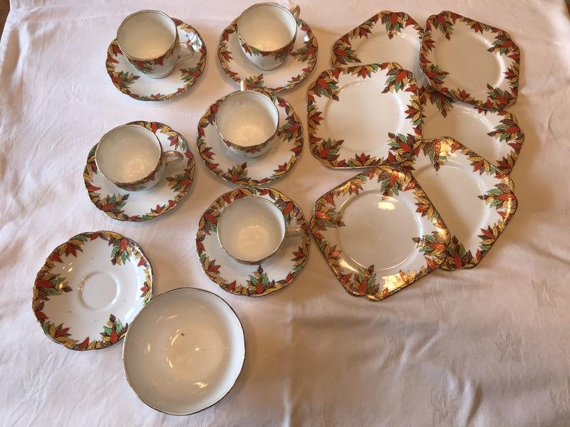 Bell China Tea Set