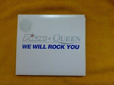 Five & Queen - We Will Rock You - The Singles - CD Original