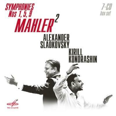 Gustav Mahler: Mahler: Symphonies Nos 1, 5, 9 CD Box Set 7
