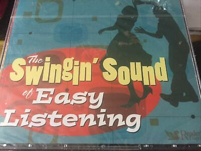THE SWINGIN' SOUND OF EASY LISTENING - VARIOUS ARTISTS- 5 CD