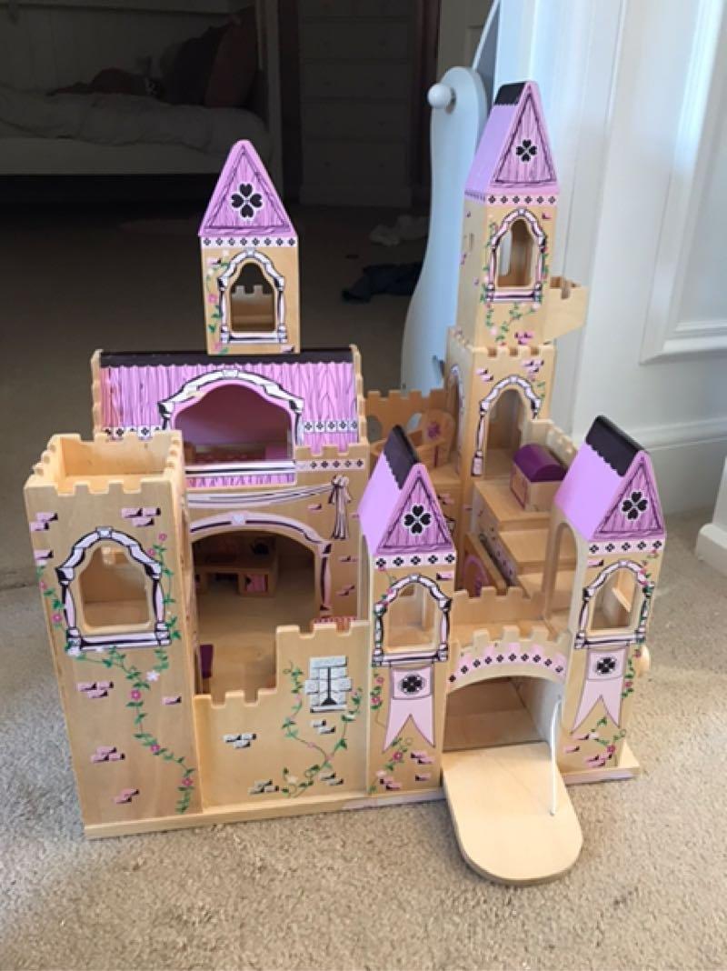 Melissa & Doug Wooden Princess Castle