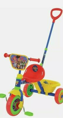 Disney Toy Story 4 Adjustable My First Trike with Rear