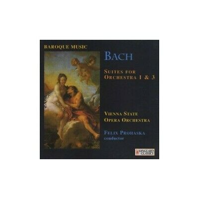 Bach: Orchestral Suites Nos 1 & 3 - CD V6VG The Cheap Fast