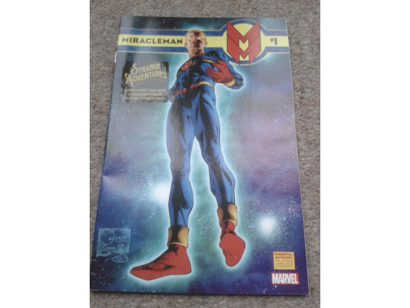 MIRACLEMAN #1-A DREAM OF FLYING-FREE COMIC BOOK DAY