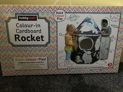 Colour Your Own Rocket Ship Childrens Playhouse Kids
