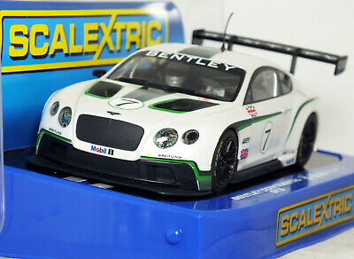 1:32 HORNBY ScaleXtric BENTLEY CONTINENTAL GT3 Racing Car #7