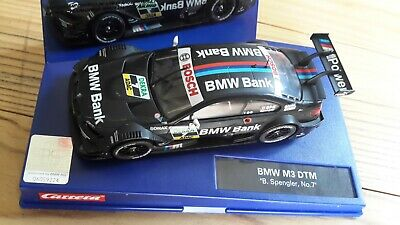 Carrera Digital 132 BMW Bank M3 DTM Noir Team ScHitler Bruno