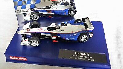 Carrera Digital 132 Formula E Auto Sport Marco Andretti