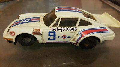 Rare Vintage Scalextric Porsche Turbo 935 Rally Car.