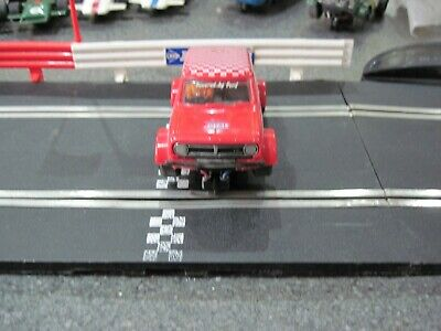 SCALEXTRIC Vintage Mini Clubman  GT C122 Red, Ready to