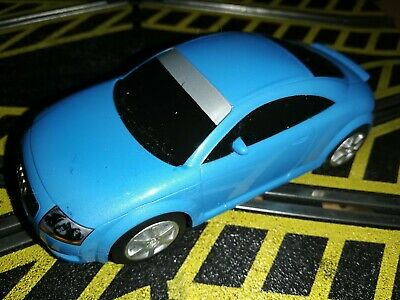 Scalextric Audi TT In Light Blue In Good Condition C